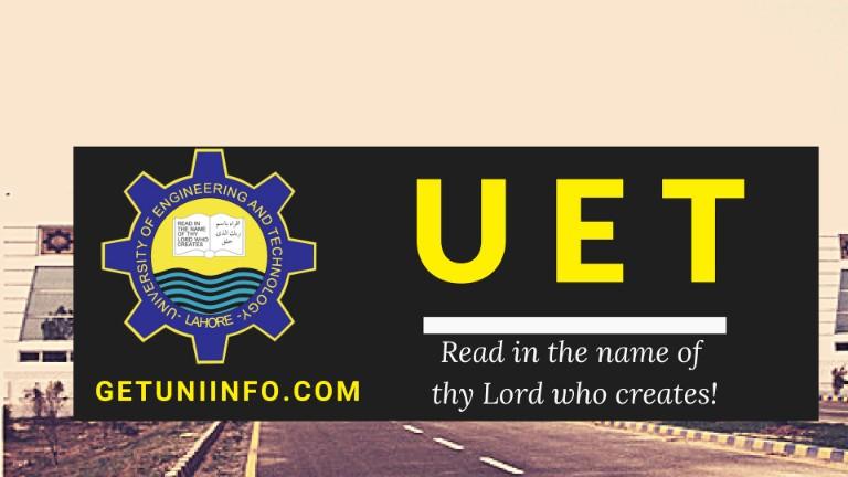 Uet Lahore Merit List Admission Result 2019 – Desenhos Para Colorir